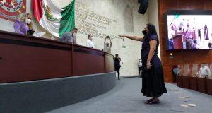 Asume Diputada Karina Espino vicepresidencia de Mesa Directiva del Congreso de Oaxaca