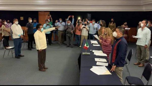 Asume diputado Fredie Delfín presidencia de la Jucopo en el Congreso de Oaxaca