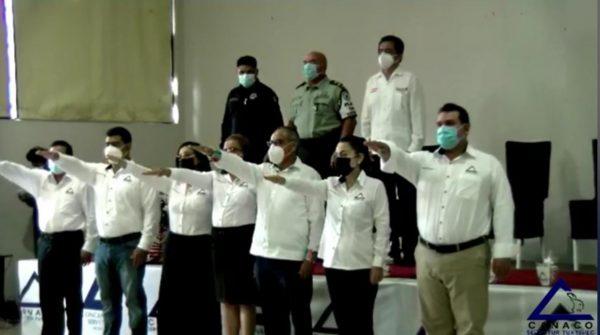 Toma protesta nueva dirigencia de la CANACO en Tuxtepec
