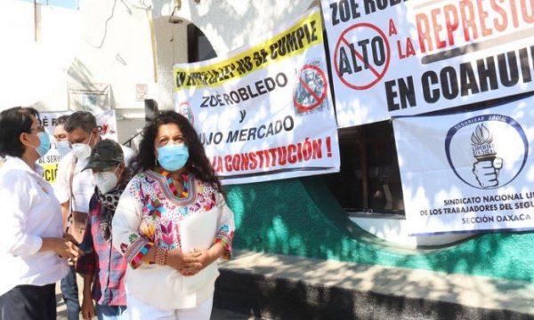 Denuncian robo de medicamentos controlados en Hospital del IMSS de Oaxaca