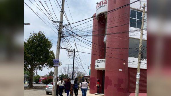 Ex trabajadores de Morena denuncian que el partido no les quiere pagar