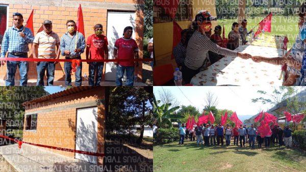 Entrega la FPR 15 cuartos dormitorios a familias de escasos recursos en Nuevo Centro Valle Nacional