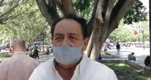 Manuel Orozco Sumano denuncia agresión de parte del tesorero del colectivo de artistas del