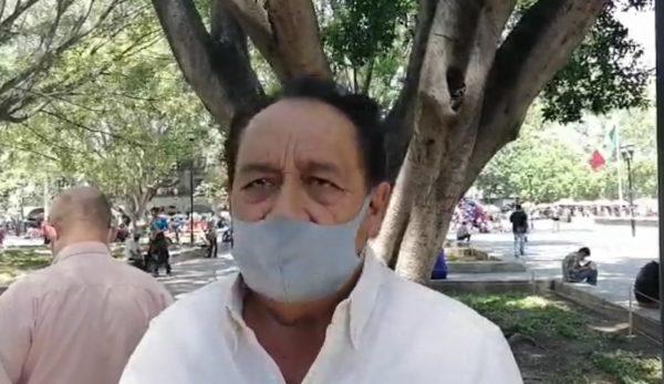"""Manuel Orozco Sumano denuncia agresión de parte del tesorero del colectivo de artistas del """"Jardín Labastida"""""""