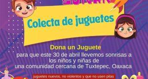 Movimiento Siempre Alerta de Tuxtepec, anuncia colecta de juguetes