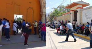 Sin contratiempos vacunación contra Covid en San Sebastián Tutla y Xoxo