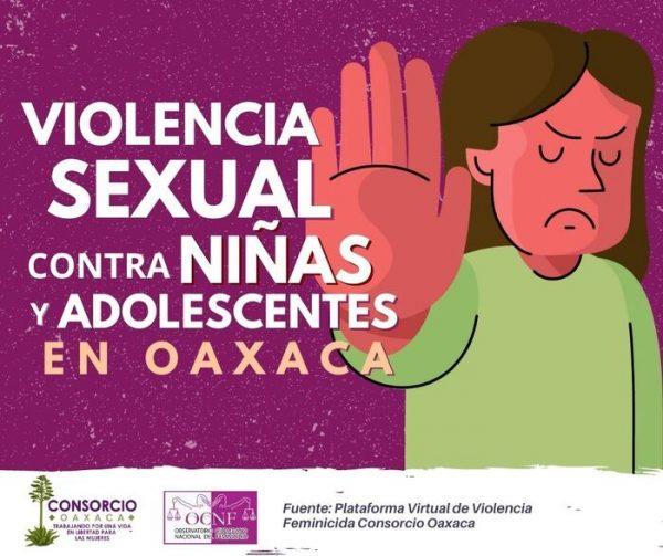Grave el incremento de violencia sexual contra niñas y adolescentes, durante confinamiento en Oaxaca