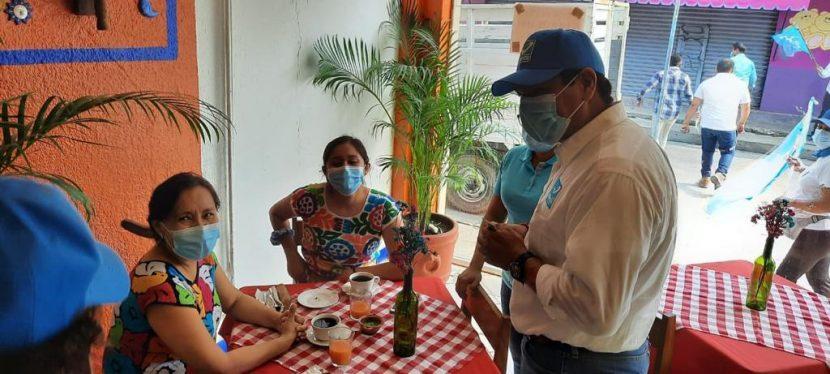 Legislaré en beneficio de los comerciantes tuxtepecanos: Pepe Villamil