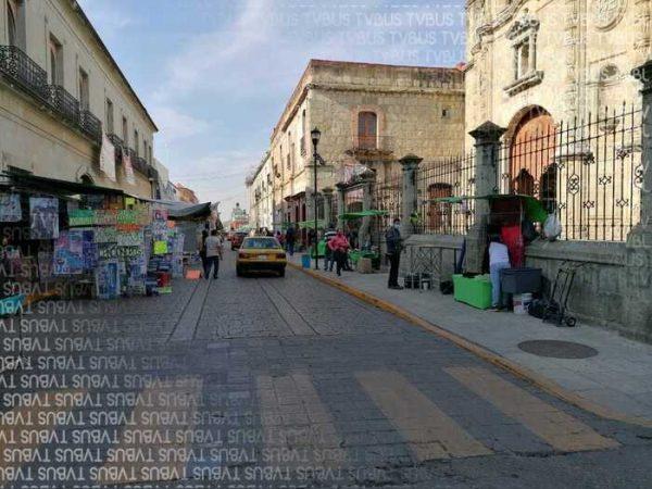 Reconoce SECTUR mal aspecto de ambulantes en centro histórico de Oaxaca, ayuntamiento debe resolverlo