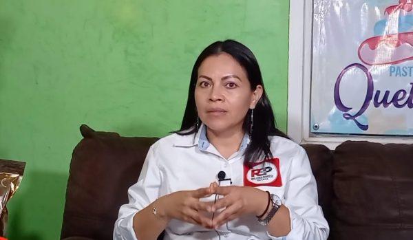 """Morena no es el enemigo a vencer y alianza """"Va por Oaxaca"""" es como un combo de comida chatarra que no nutre: Candidata de RSP"""