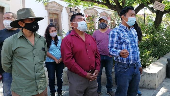 """Artistas del """"Jardín Labastida"""" denuncian a Manuel Orozco Sumano de generar conflicto interno"""
