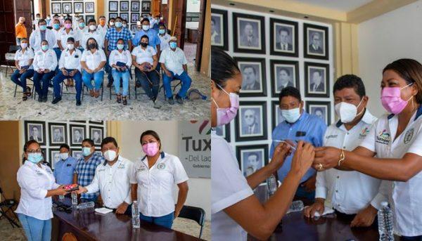 Apoyo y buen trato a base sindical del ayuntamiento en Tuxtepec, afirman líderes