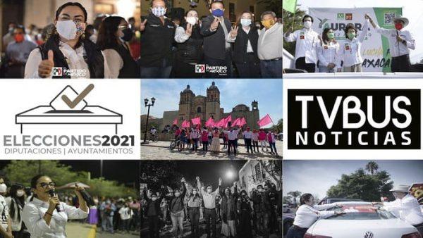 Arrancan campaña candidatos a diputaciones locales en Oaxaca de Juárez