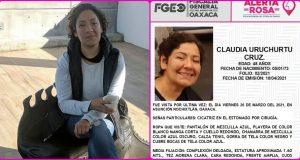 Intensifican búsqueda de Claudia Uruchurtu en Nochixtlán
