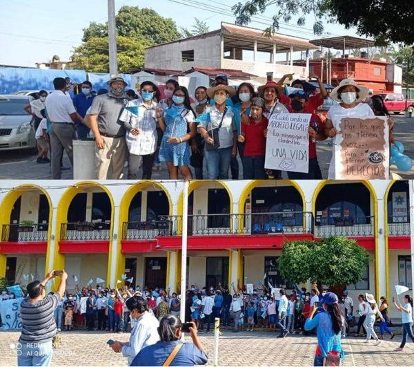 Que legisladores creen políticas que ayuden y no despenalicen el aborto, piden en Tuxtepec