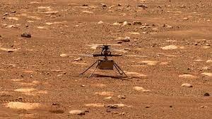 El Ingenuity de la NASA hace historia al volar por primera vez en Marte