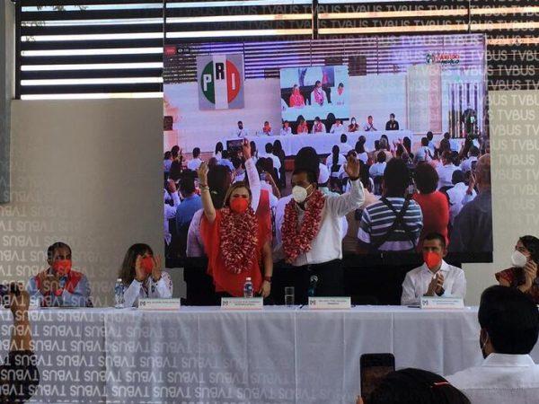 """Asume Eviel Pérez dirigencia del PRI en Oaxaca, """"me sumaré al trabajo del primer priísta de Oaxaca"""" dijo"""