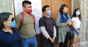 Desalojan con violencia a trabajador del MACO