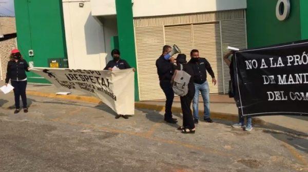"""""""Fuerza Negra"""" del STPEIDCEO, rechaza una vez más prórroga de dirigencia"""