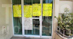 Sección 35 bloquea jurisdicción sanitaria en Tuxtepec, exigen se respeten los derechos de los trabajadores con mayor antigüedad