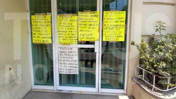 FNTSRM toma jurisdicción sanitaria en Tuxtepec, exigen se respeten los derechos de los trabajadores con mayor antigüedad