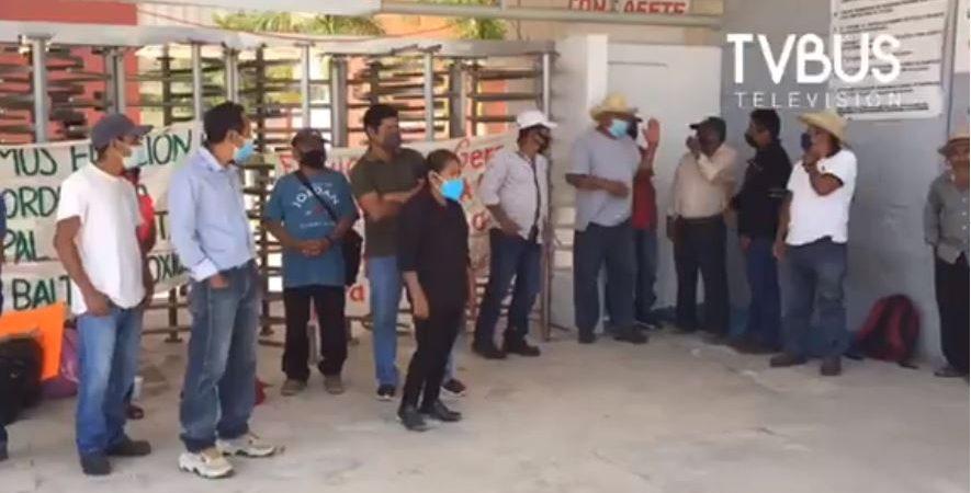 Habitantes de San Baltazar Loxicha amagan con no permitir elección el 6 de junio