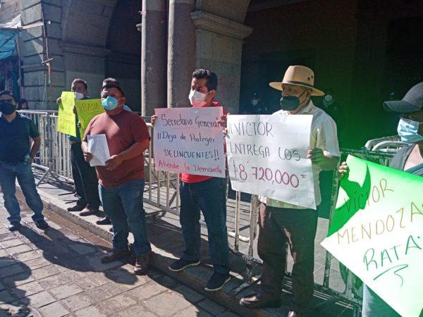 Con manifestaciones y bloqueos, buscan pobladores de Ozumacin que Gobierno atienda conflicto