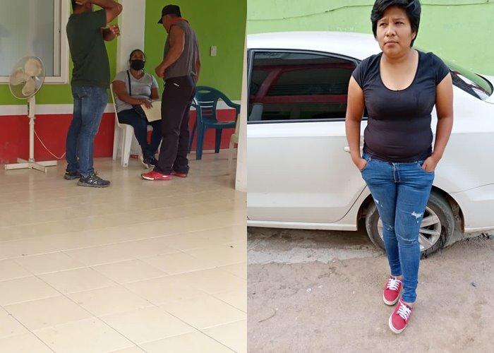 Suman dos las funcionarias municipales retenidas en Ayotzintepec; pobladores exigen recursos