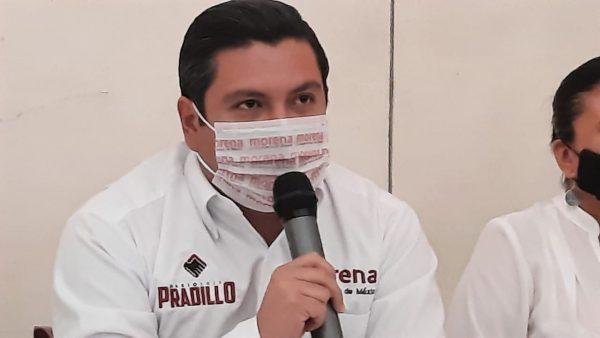 Pide Mario Pradillo a dirigencia estatal de Morena, informe situación sobre candidatura en Santa Lucía del Camino