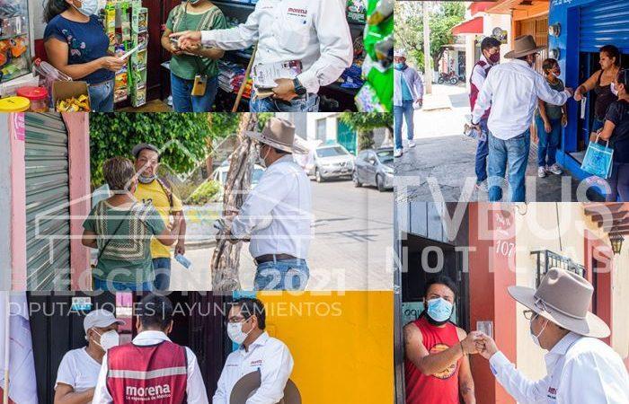 Con cercanía y apertura, campaña de Luis Alberto Sosa se va fortaleciendo