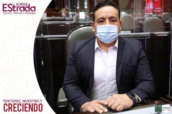 Toma posesión nuevo diputado del PES representando a Tuxtepec