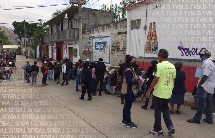 Inicia aplicación de segunda dosis de vacuna Covid en San Antonio de la Cal, San Agustín de las Juntas y Tlacolula