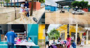 Inician campaña de vacunación contra sarampión y rubéola en Loma Bonita