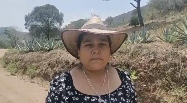 Por conflicto en Sola de Vega, comisionada pide ayuda del Presidente López Obrador