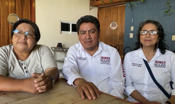 Se compromete candidato de MORENA de Tuxtepec, en construcción de capasits