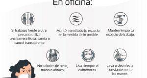 Del 10 al 23 de mayo, Oaxaca estará en semáforo epidemiológico verde