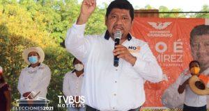 Prioritaria la rehabilitación y pavimentación de calles y caminos: Noé Ramírez Chávez