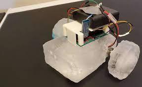 Un robot de hielo con el que explorar otros planetas