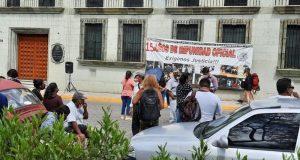 Asamblea de víctimas y ex presos políticos, piden que ley de derechos humanos se aplique en Oaxaca