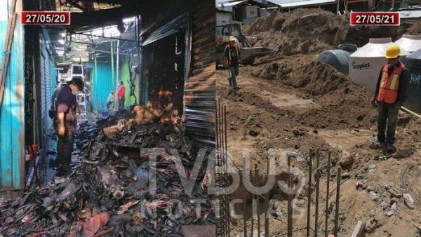 A un año del incendio en la central de abastos en Oaxaca, así recuerdan locatarios el incidente