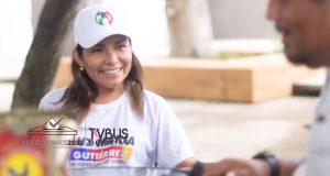 Buscará Luz María Gutiérrez, consolidar proyectos en Chiltepec que sustenten recursos propios