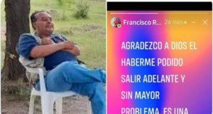 Aparece con vida periodista Francisco Ramírez Padilla, confirman familiares