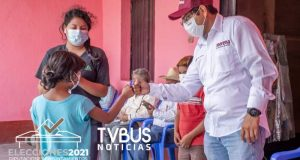 San Lorenzo Cacaotepec recibe de buena manera a Luis Alberto Sosa