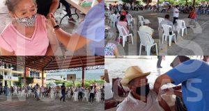 Adultos mayores de Valle Nacional, piden no bajar la guardia ante covid; a pesar de tener la vacuna