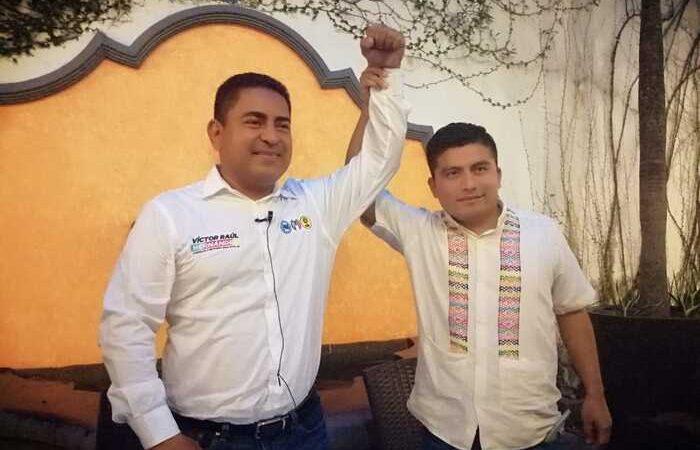 """Declina el """"Jaguar de la Chinantla"""", se une al proyecto de Víctor Raúl Hernández candidato de la coalición Va por Oaxaca"""