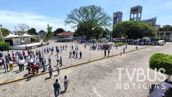 Mega simulacro nacional en Tuxtepec, con saldo blanco y con éxito