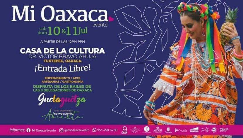 """En Tuxtepec, """"Mi Oaxaca Evento"""" reunirá a emprendedores y artesanos oaxaqueños"""