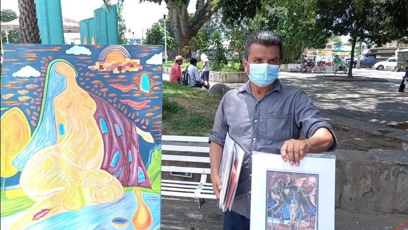 En Tuxtepec, el apoyo al arte local es nulo, reclama artista plástico Tuxtepecano