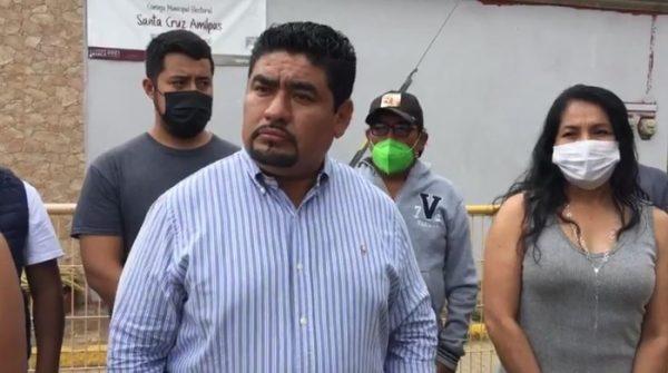 Pide Baruch Castellanos a IEEPCO que se respete voluntad del pueblo en Santa Cruz Amilpas