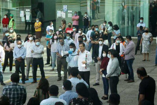 Congreso de Oaxaca participa en Primer Simulacro Sísmico Nacional